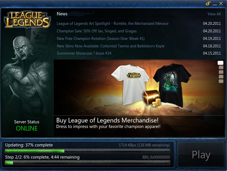 League of Legends: Sprach Dateien Download