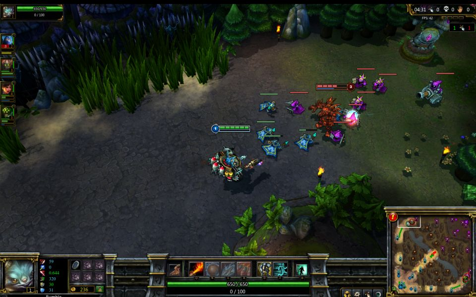 League of Legends: inGame Szene