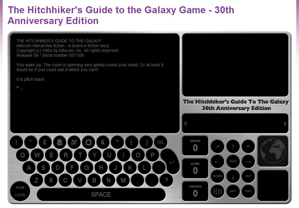 Hitchhiker Guide to the Galaxy